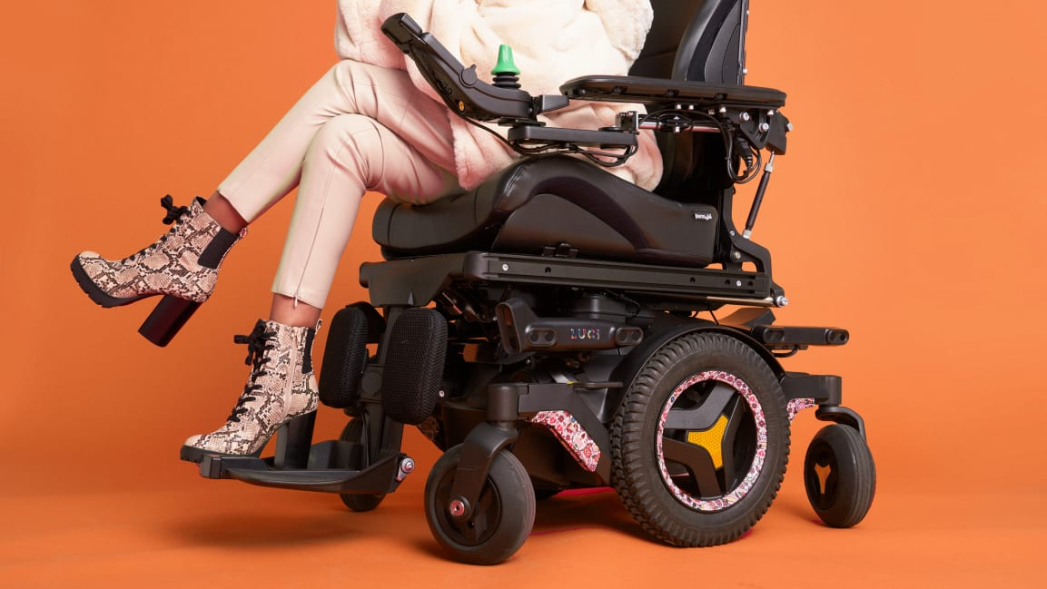 This tech gives any wheelchair smart driving capabilities to help avoid collisions and falls