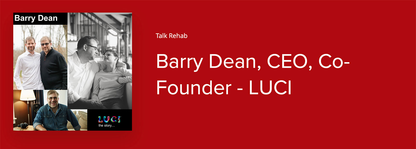 Barry Dean – Talk Rehab