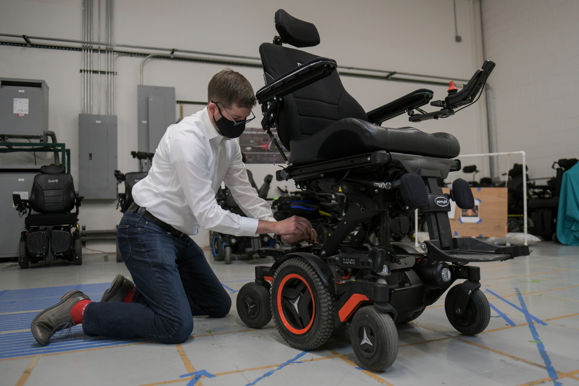 """Brothers' labor of love results in safer, """"smart"""" power wheelchair"""