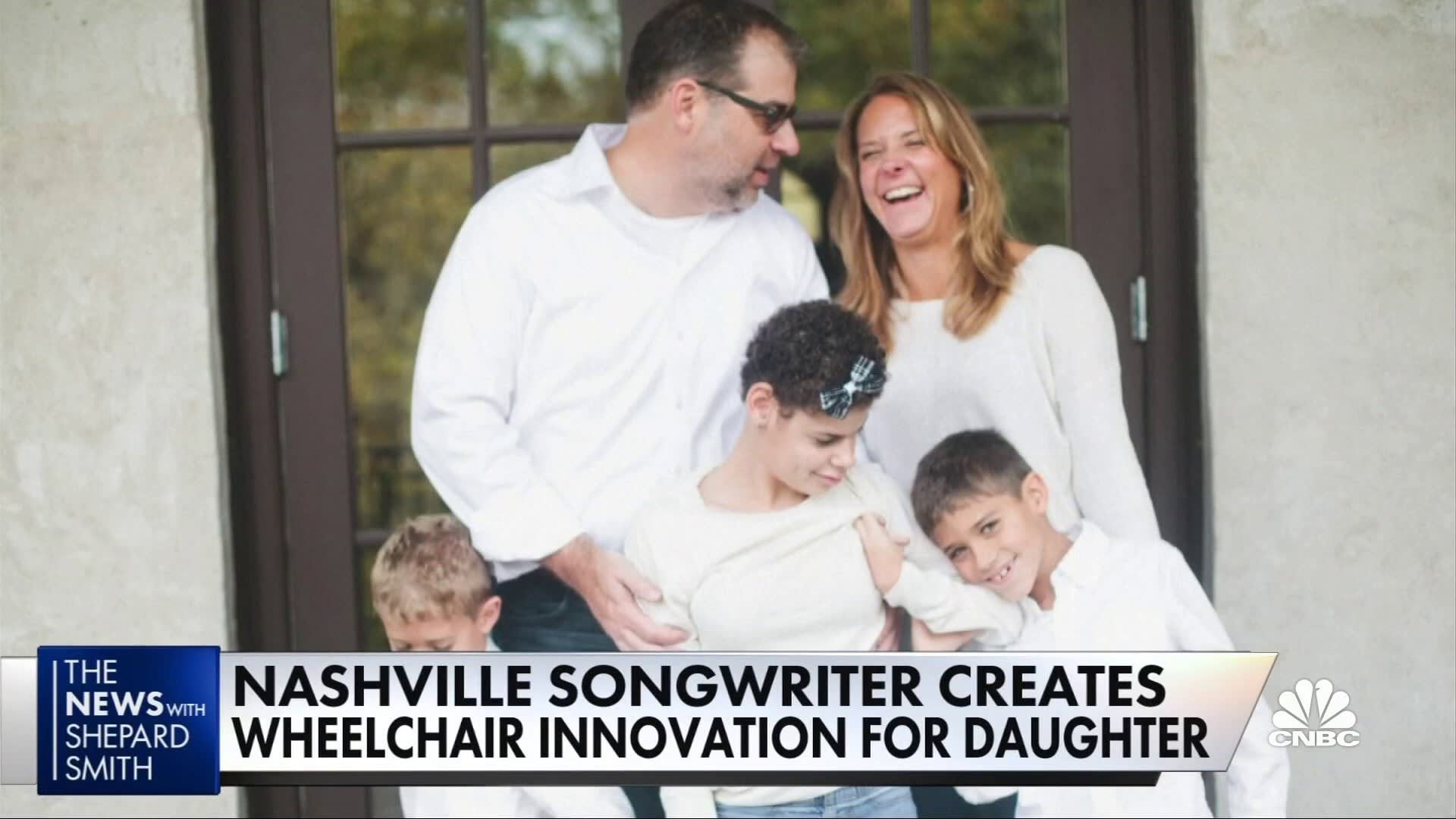 Nashville songwriter dad creates power wheelchair 'LUCI' for his daughter